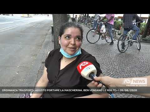 ORDINANZA TRASPORTI: «GIUSTO PORTARE LA MASCHERINA, BEN VENGANO LE MULTE» | 28/06/2020