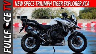 9. 2017 Triumph Tiger Explorer XCA Review, Specs and Accessories