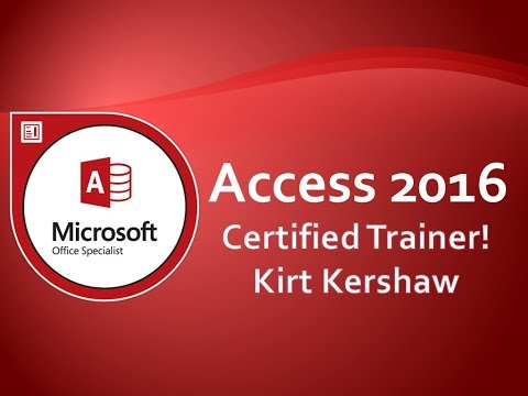 Microsoft Access 2016 Tutorial For Beginners – How To Use Access Part 2