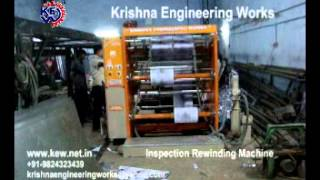 Inspection Rewinding Machine, Doctoring Inspection Rewinding Machine