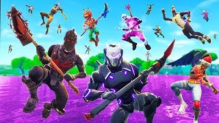Video What Happens When The ENTIRE Server Lands At The *NEW* Loot Lake (Fortnite) MP3, 3GP, MP4, WEBM, AVI, FLV Oktober 2018