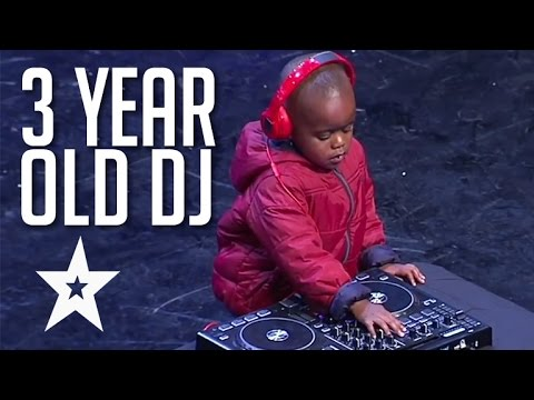 3 Year Old Dj Has The Crowd On Their Feet | Got Talent Global