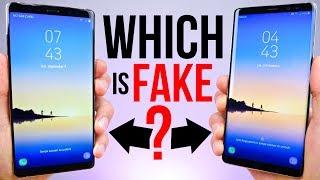 Video $90 Fake Samsung Galaxy Note 8 vs $929 Note 8! MP3, 3GP, MP4, WEBM, AVI, FLV Februari 2018