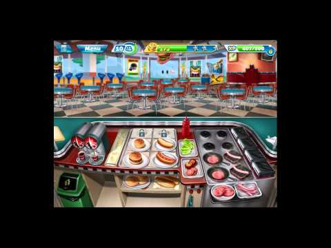 Cooking Fever [iPad Gameplay] Level 12