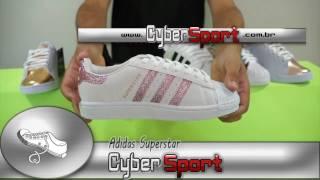 f36f0998c4e Tênis é na CyberSport - Adidas SuperStar Branco e Preto