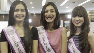 Danisa, Evina, Ulfah (Finalis Miss Celebrity 2016) - Diselingkuhin