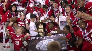 Carthage (TX) United States  City pictures : Carthage Bulldogs celebrate Texas Class 3A state championship