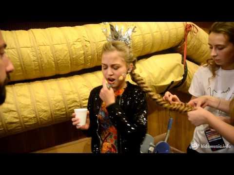 Детское Евровидение 2016: Софья Фисенко, репетиция перед выступением (видео)