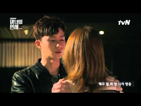 A Witch's Love A Witch's Love : Ep1 Kiss scene_Park Seo-jun, Uhm Jung-hwa