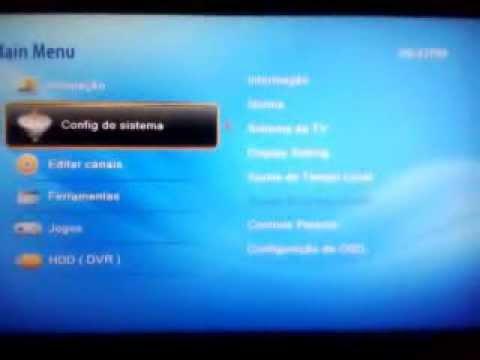 Showbox Net HD - Busca de Canais e configuração de CS
