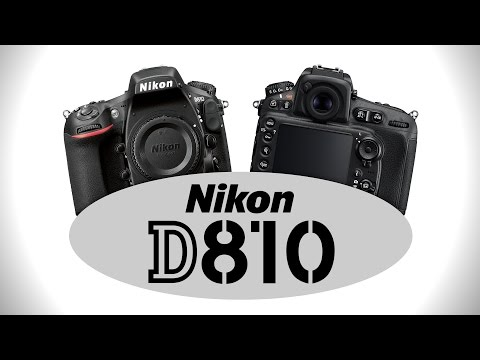 Nikon D810 Digital SLR - Hands-on Preview by Cameta Camera