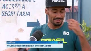 Paratletas de Marília conquistam medalhas em campeonato internacional