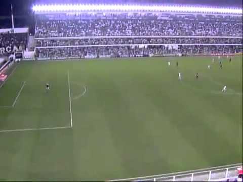 El mejor gol de Neymar contra el Flamengo
