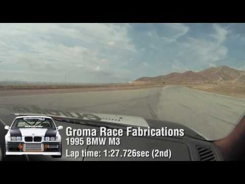 eurotuner GP 2010 Groma Race Fabrications BMW M3 turbo in-car