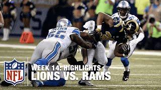 Lions vs. Rams | Week 14 Highlights | NFL