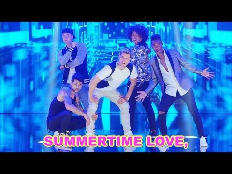 Summertime Lover (w/Lyrics) By OK Boy Band - AT&T - Sing-Along Karaoke Club Mix!