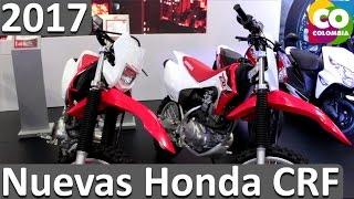 6. Nueva Honda CRF 150F 2017 y Honda CRF 230F 2017 Ficha técnica