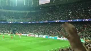 Beşiktaş-Benfica maçı 1 dakika sessiz tezahürat