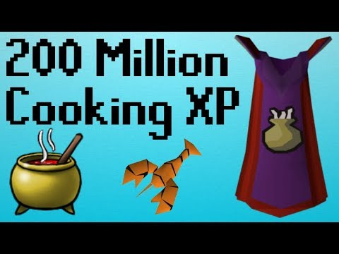 [OSRS] My Adventure Getting 200m Cooking XP