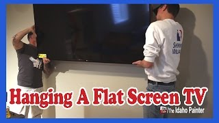 Hang A Flat Screen