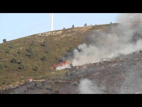 Incêndio (Castanheira de Pêra - 05Out11)