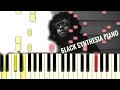 6lack - Free [#reggiewatkins piano synthesia tutorial]