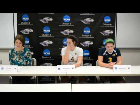 VB: NCAA 2nd Round Press Conference