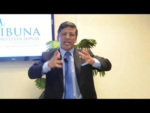 Programa 18 - La División del Poder - Tribuna Constitucional - Guido Aguila