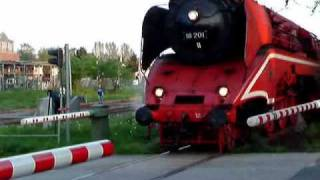 Bad Bramstedt Germany  city photo : Steamlocomotive BR18 201