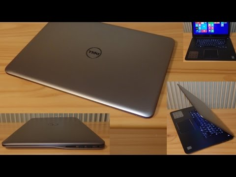 "Dell Inspiron 7548 15"" 7000 serie - Notebook unboxing and first boot Windows 8 Pro"