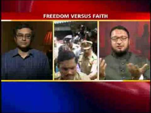 4freespeech - PART 4 OF 4: Guests include, Hyderabad Member of Parliament, Majlis Ittahadul Muslimeen (Council of United Muslims) Party president, Assaduddin Owaisi, and T...