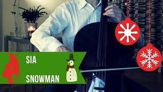 Sia - Snowman for cello and piano (COVER)