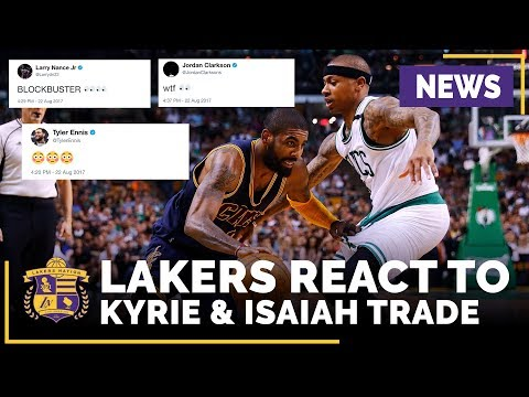 Video: Lakers, NBA Players React To Cleveland Trading Kyrie Irving