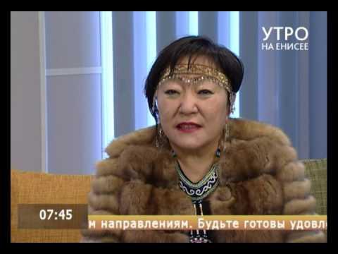 Директор эвенкийской районной школы искусств Е. Александрова о празднике Таймыра и Эвенкии