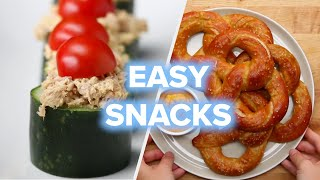 18 After School Snacks Anyone Can Make • Tasty by Tasty
