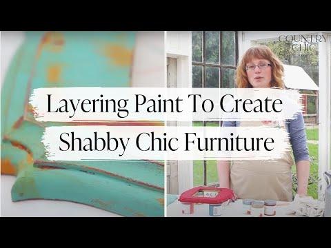 come creare lo stile shabby chic