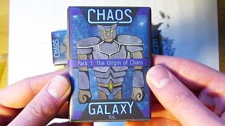 Link to buy Chaos Galaxy Set 1 packs!!: https://www.thegamecrafter.com/games/chaos-galaxy-tcg-set-1:-the-origin-of-chaos-booster-pack Please like, comment ...