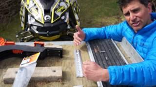 Комплект креплений SuperClamp II для перевозки снегохода