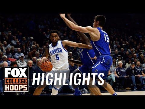 Creighton vs Xavier | Highlights | FOX COLLEGE HOOPS
