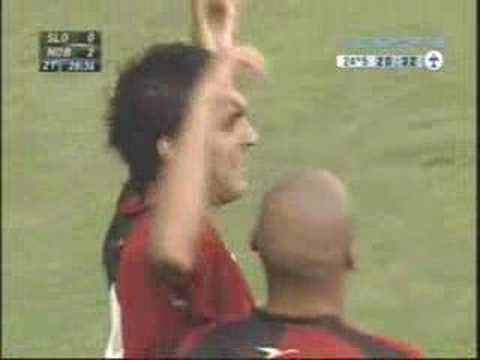 Gol de Salcedo a San Lorenzo