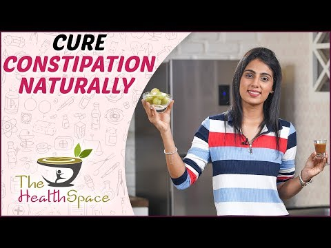 How To Cure Constipation Naturally | Easy Constipation Remedies At Home! | The Health Space