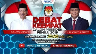 Video FULL! DEBAT CALON PRESIDEN PEMILU 2019 (IDEOLOGI, PEMERINTAHAN, KEAMANAN & HI) MP3, 3GP, MP4, WEBM, AVI, FLV April 2019