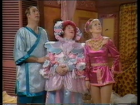 ALADDIN & THE 40 THIEVES, 1984 BBC Pantomime starring Sarah Greene and Jan Francis