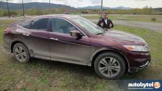 2014 Honda Crosstour 3.5L V-6 Test Drive&CUV Video Review