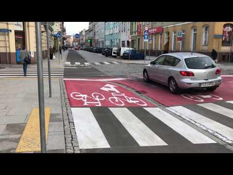 Wideo1: Ul. Słowiańska w Lesznie po przebudowie