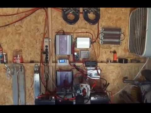 HOW TO INSTALL A DIY HOME HYBRID WIND, SOLAR and WOOD ALTERNATIVE POWER SYSTEM -GO GREEN!