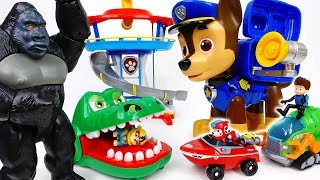 Video Paw Patrol, Get Bigger To Defeat Big Monsters~! - ToyMart TV MP3, 3GP, MP4, WEBM, AVI, FLV Juli 2018