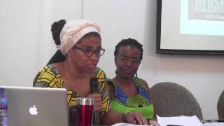 Prof Adomako Ampofo and Dr. Kambon: Black=African Lives Matter and Decolonizing the Academy 4 October 2016 IAS Weekly Seminar Series Note that Afrika ...