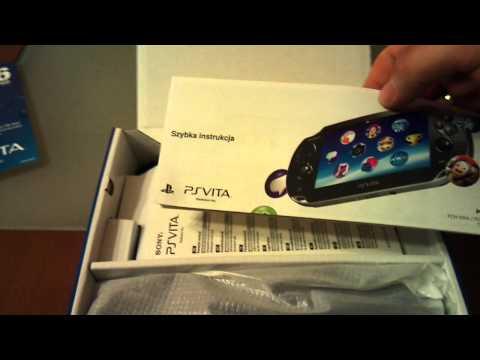 Polygamia.pl: Amatorski Unboxing konsoli PlayStation Vita