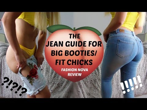 Jeans For Fit Chicks/ Big Butts | Fashion Nova Jeans Review/ Try On | Where I Get My Jeans